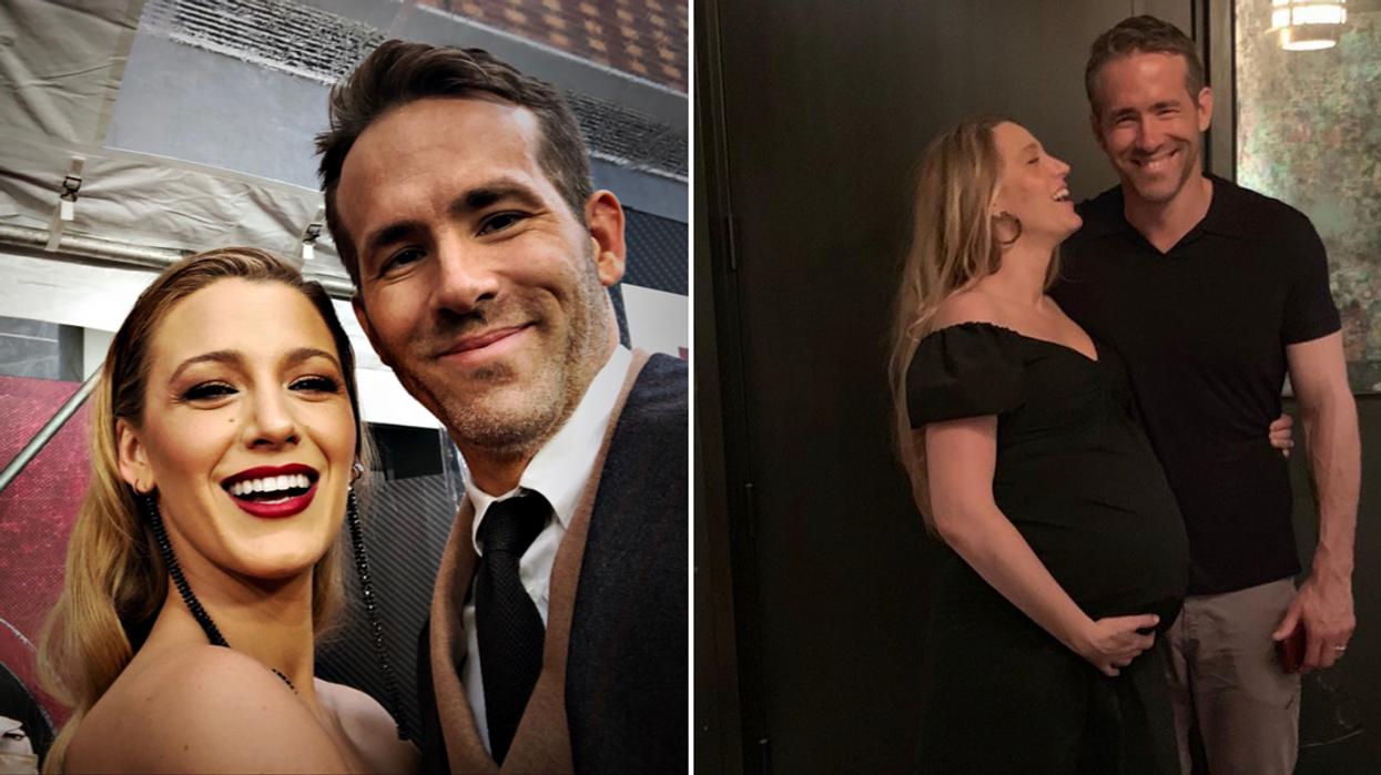 Blake Lively et Ryan Reynolds partagent la 1re photo de leur bébé et c'est au Canada