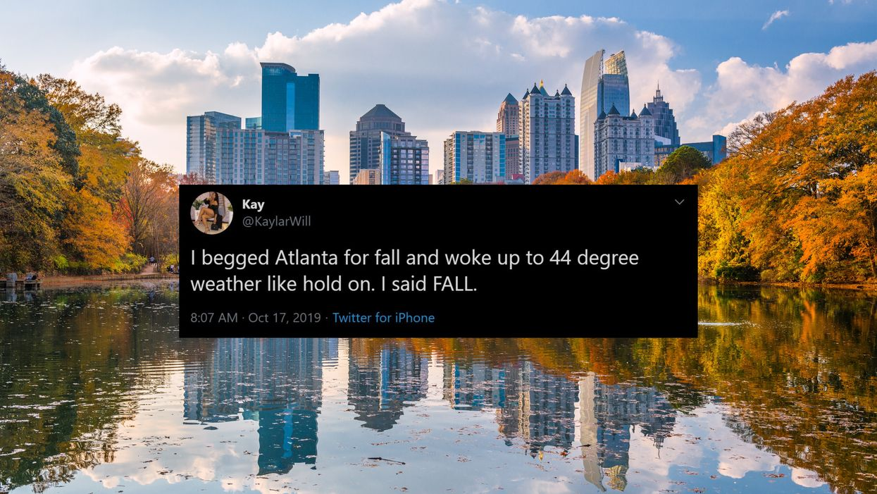 Atlanta Weather Forecast Is Actually Cooling Down Early This Fall