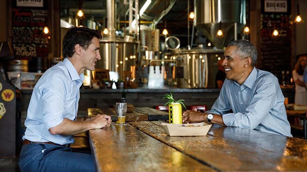 Barack Obama appuie Justin Trudeau sur Twitter pour les élections canadiennes 2019