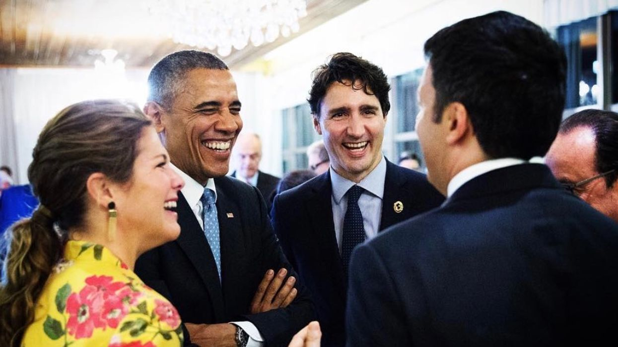 Barack Obama Endorsed Justin Trudeau In A Tweet That Brings Back Their Bromance