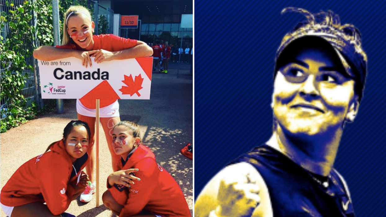 The US Open Just Gave Bianca Andreescu Her Own Phone Wallpaper & She's Loving It (PHOTO)
