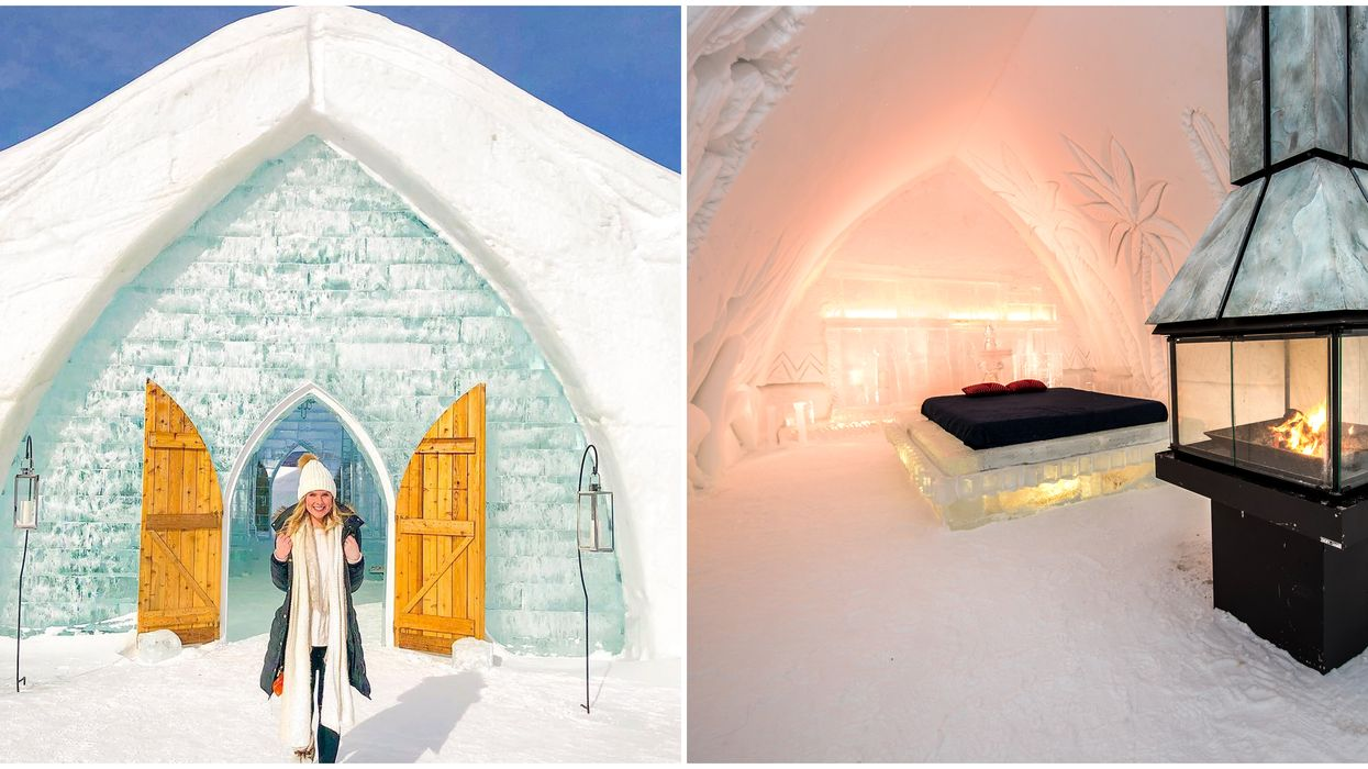 Hotel De Glace Near Quebec City Is North America's Only Ice Hotel & Re-opens January 2020