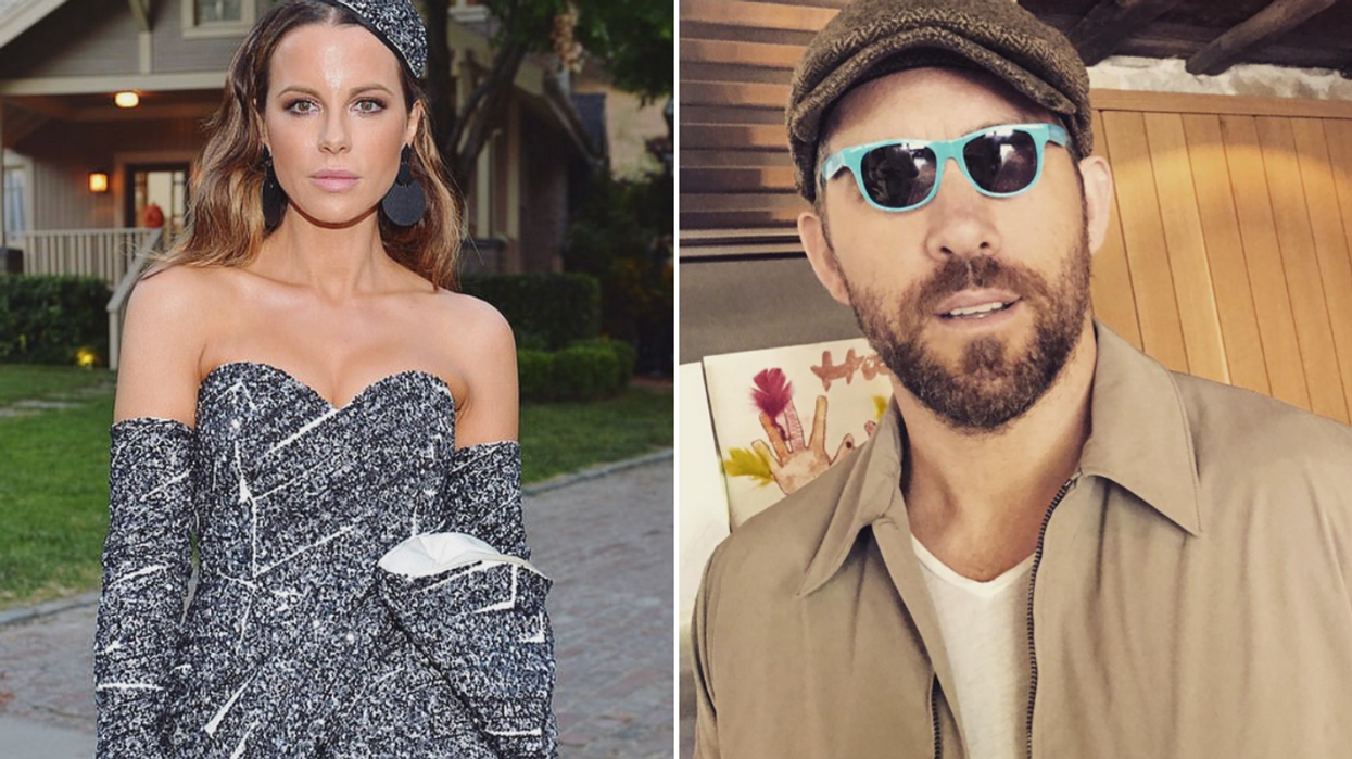 Kate Beckinsale Found Her Canadian Look-Alike And It's Ryan Reynolds