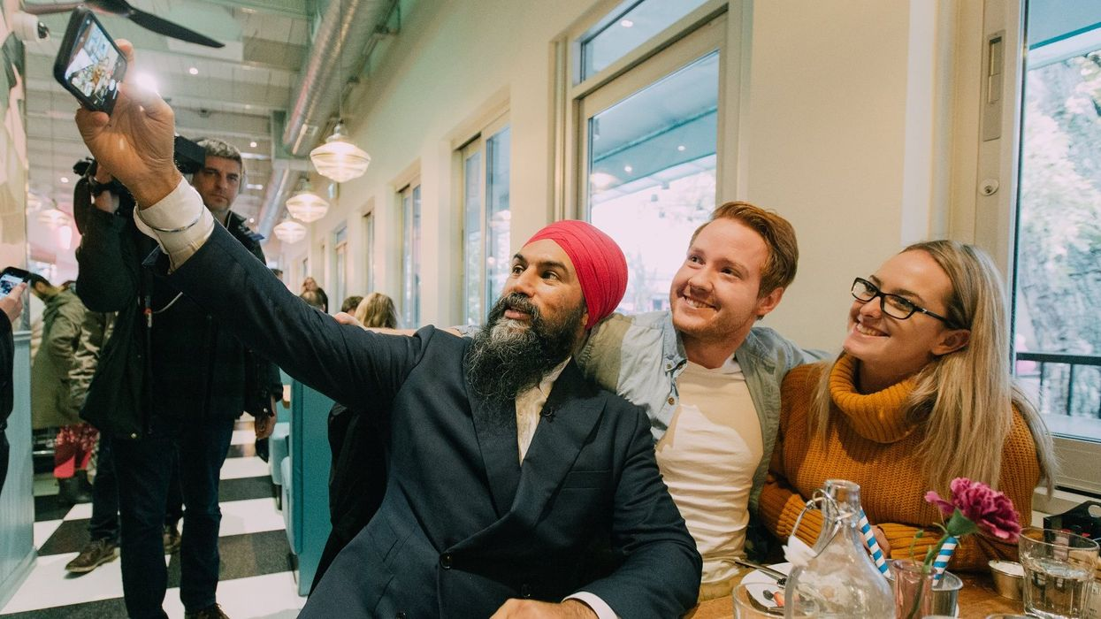 Jagmeet Singh's Video Message Tells Canadians To Vote With Their Hearts (VIDEO)
