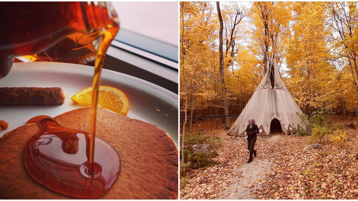 Ontario's Wheelers Maple Has Stunning Woodland Trails And A Charming Pancake House
