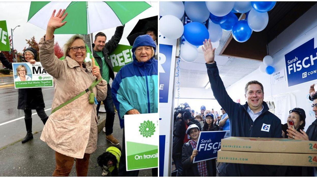 Andrew Scheer & Elizabeth May's Election Bet Was Another Loss For Scheer