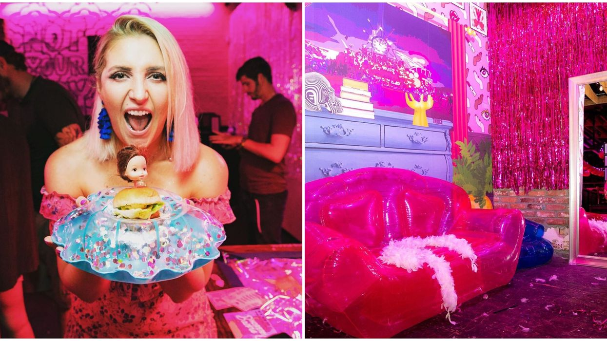 A Barbie Pop Up Bar In Nevada Exists & It's Barbie Approved