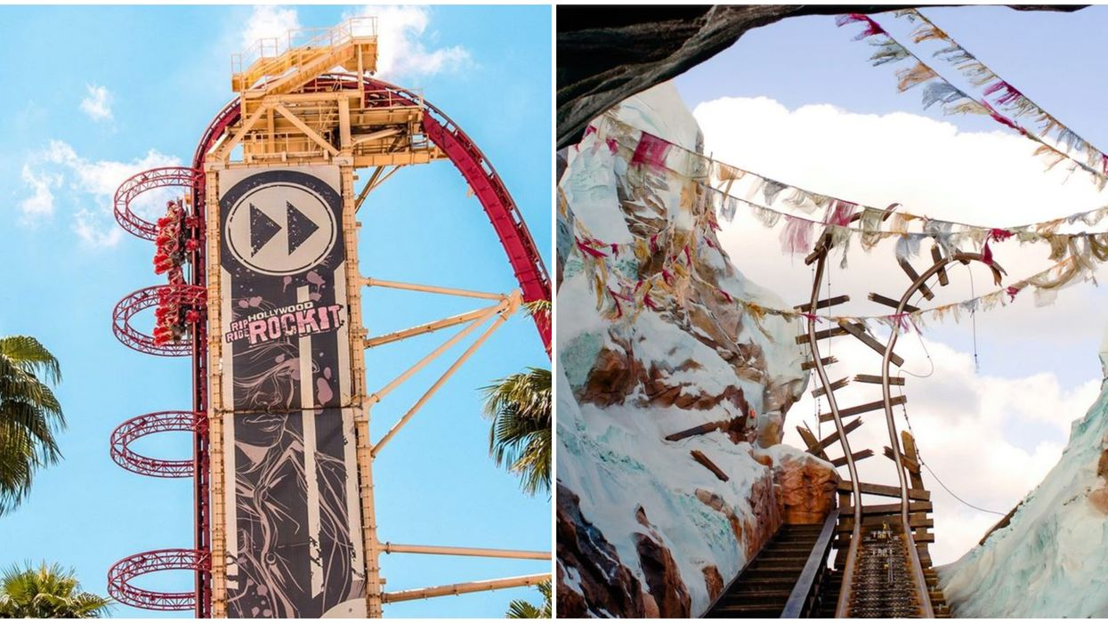 8 Most Intense Florida Rollercoasters That Aren't For The Faint Of Heart