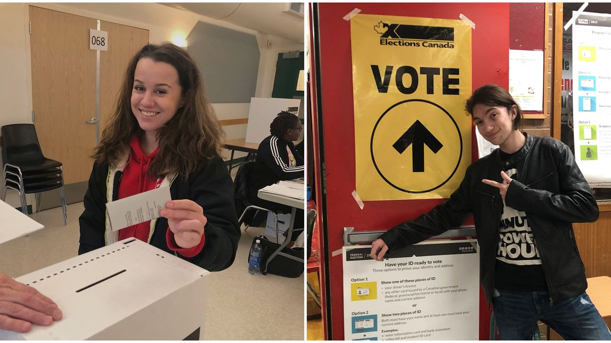 Election Day In Canada First Time Voter Photos That Will Make You So Proud