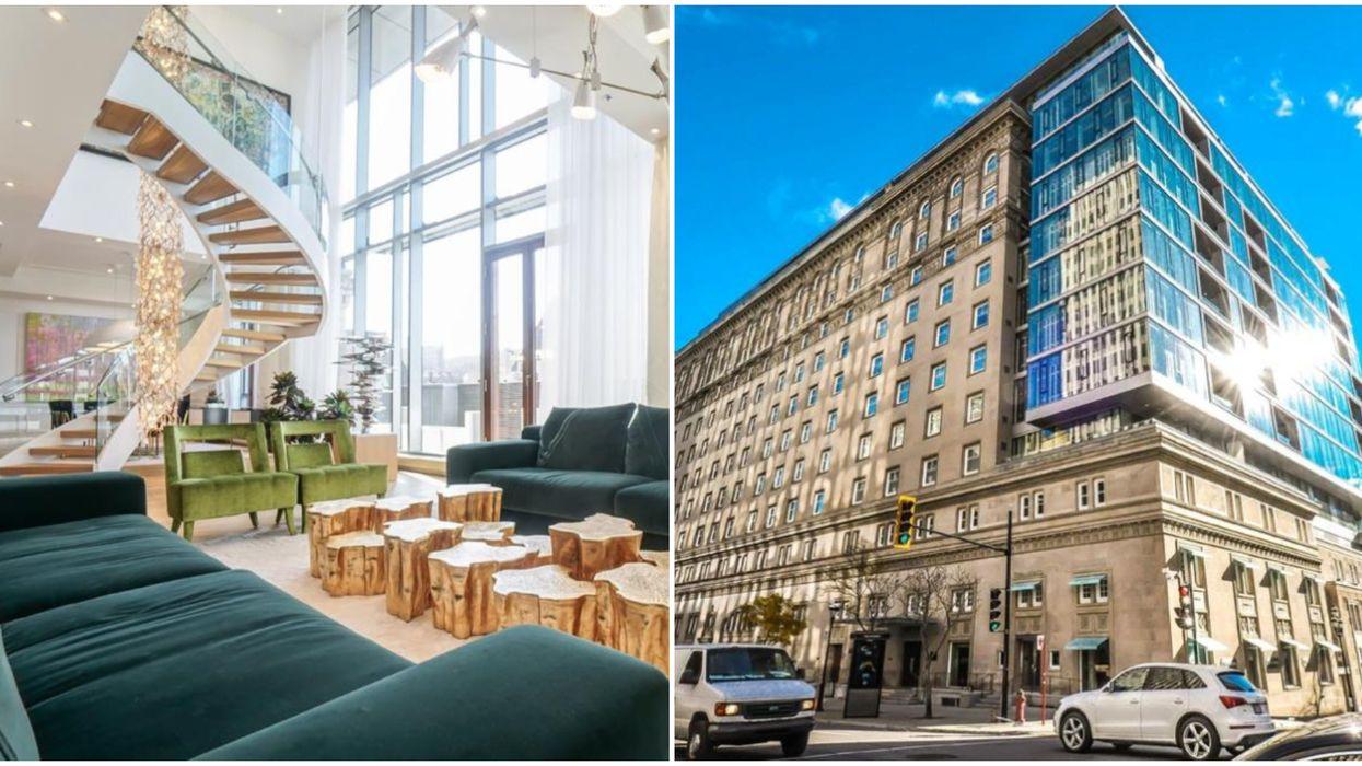 Ce luxueux penthouse digne de Gossip Girl à Montréal est en vente pour 7 500 000 $