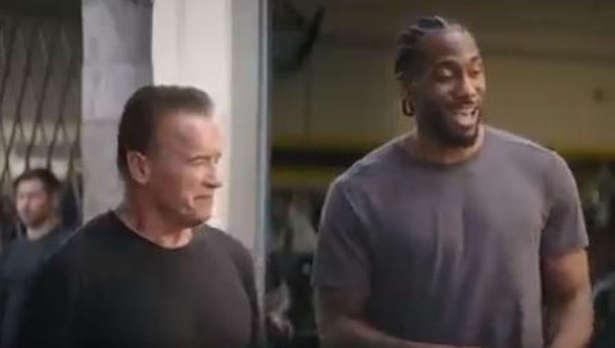 Kawhi Leonard Terminator Trailer Sees NBA Star Act Alongside Arnold Schwarzenegger