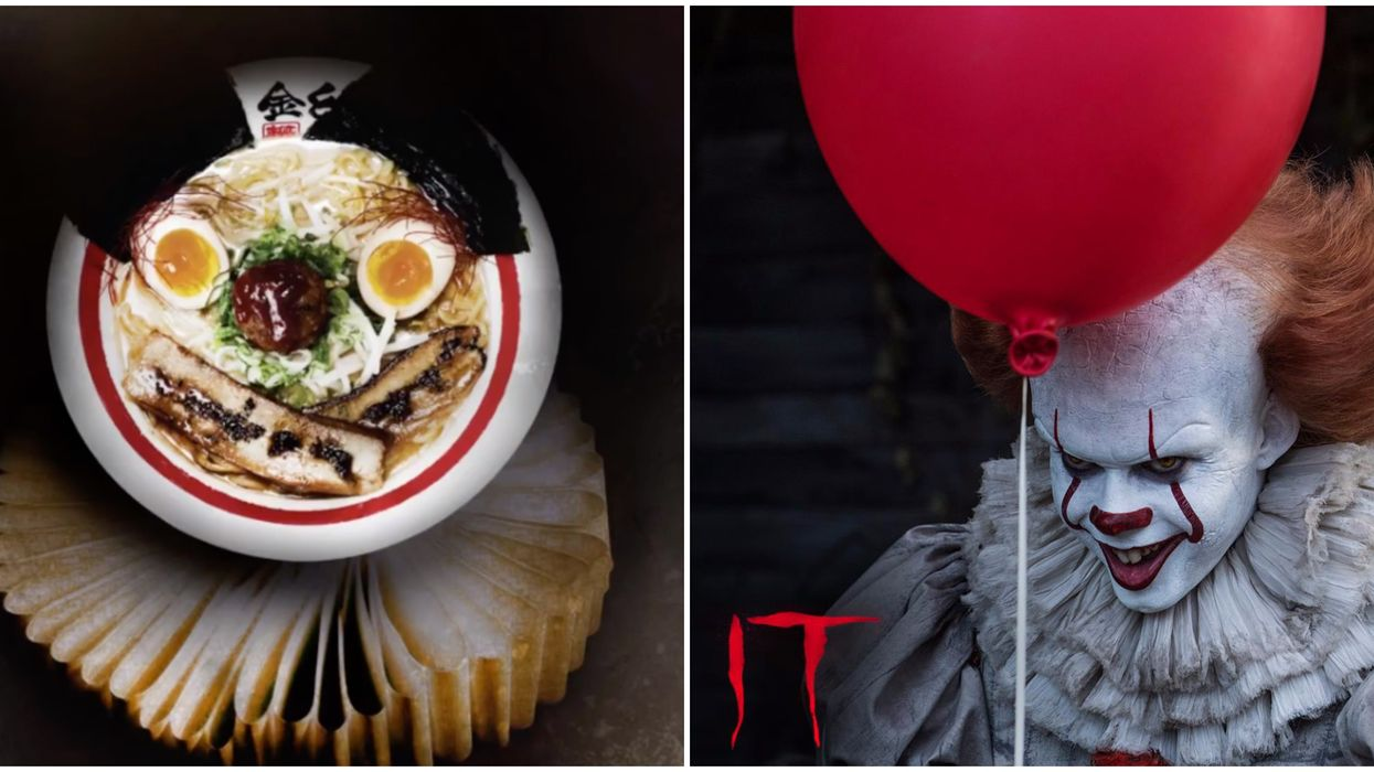 Kinton Ramen's Pennywise Dish Is Coming To The GTA And Montreal For A Limited Time