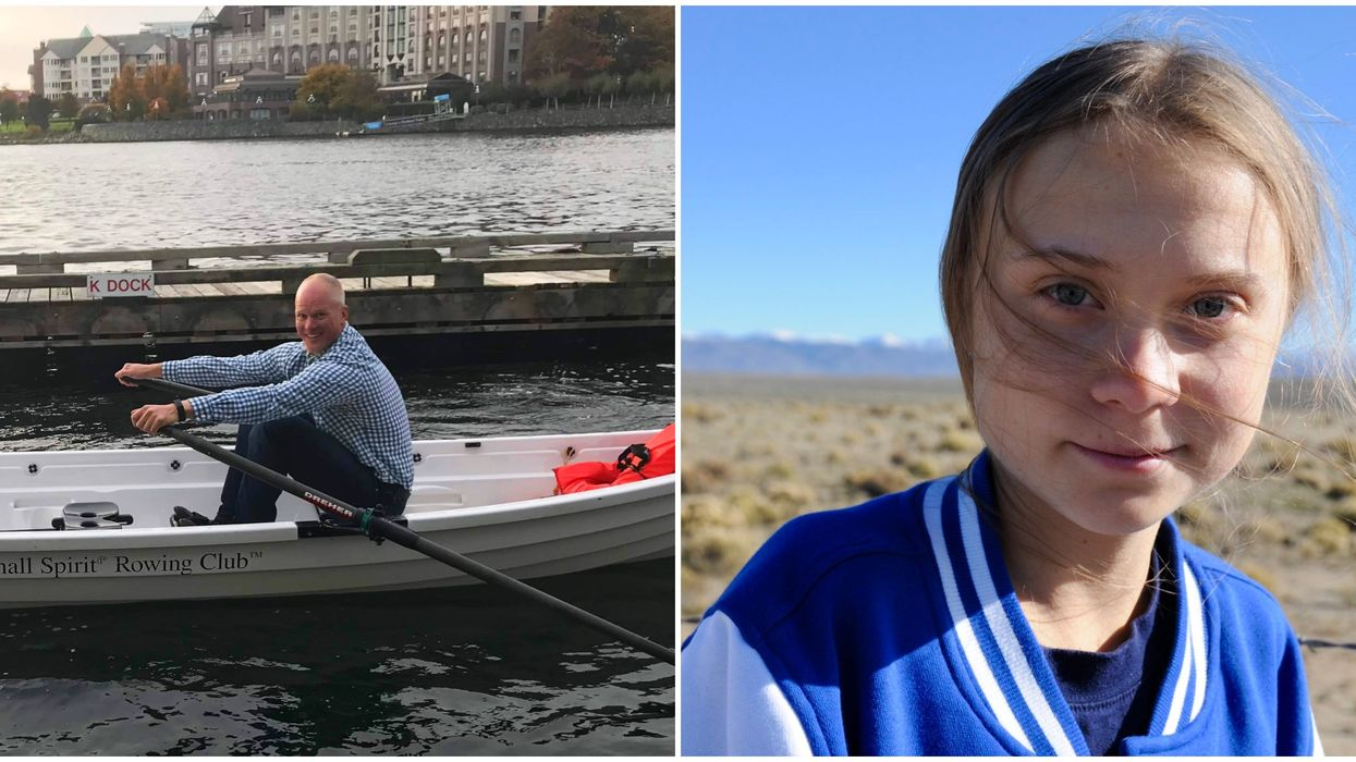 Greta Thunberg Victoria Visit Has People In BC Wanting To Row Her Over
