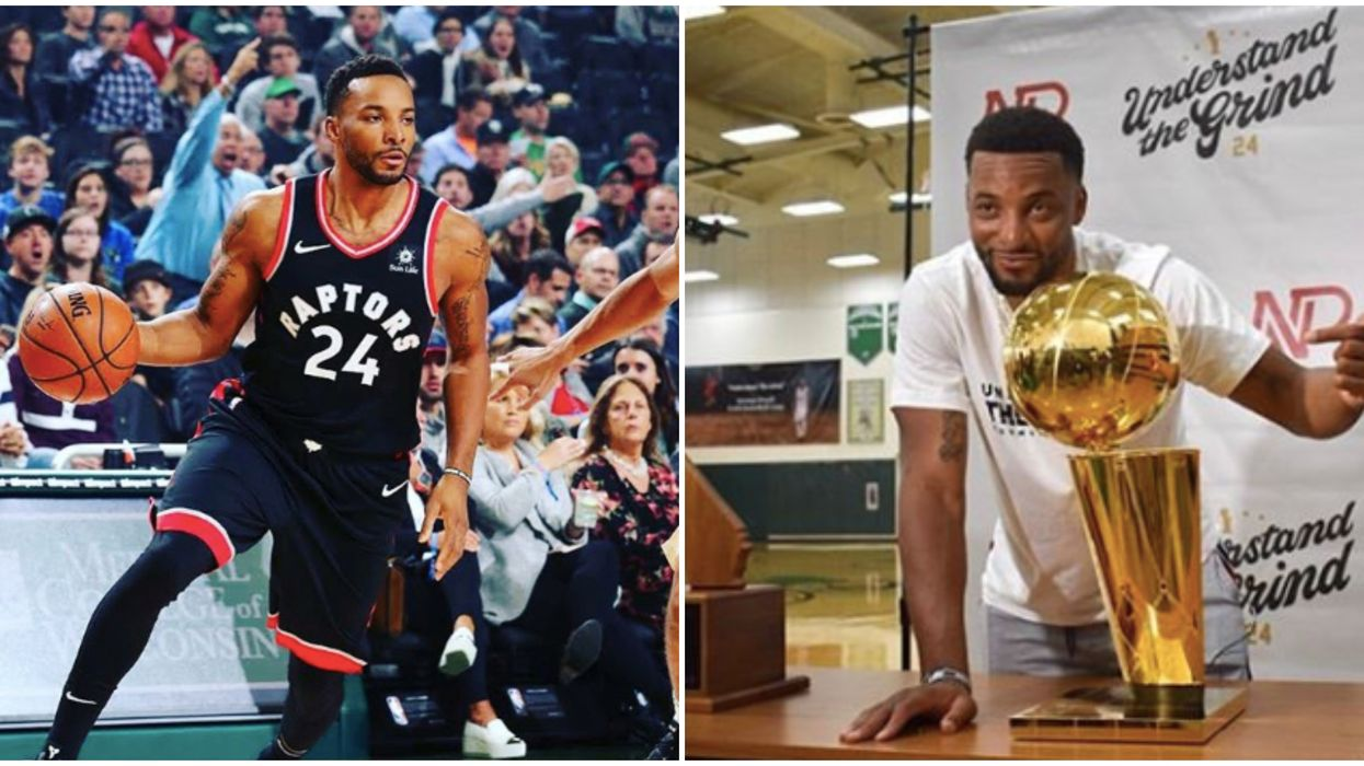 Norman Powell Will Be Signing Autographs For Fans In Scarborough This Weekend