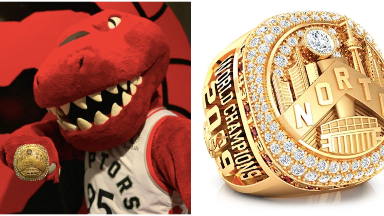 You Can Now Buy The New Raptors Premium Championship Ring For More Than A Car