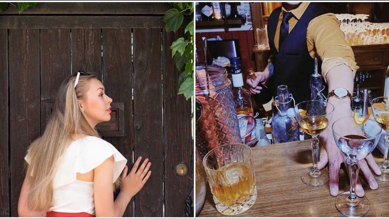 A Brand New Secret Speakeasy Is Hidden In San Antonio & They Serve Free Drinks