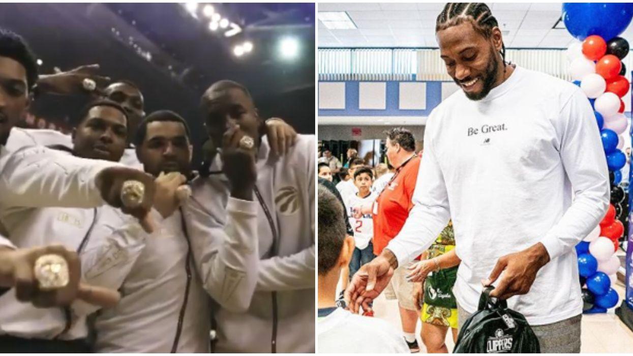 Kawhi Leonard's Championship Ring Was Bigger Than His Raptors Teammates