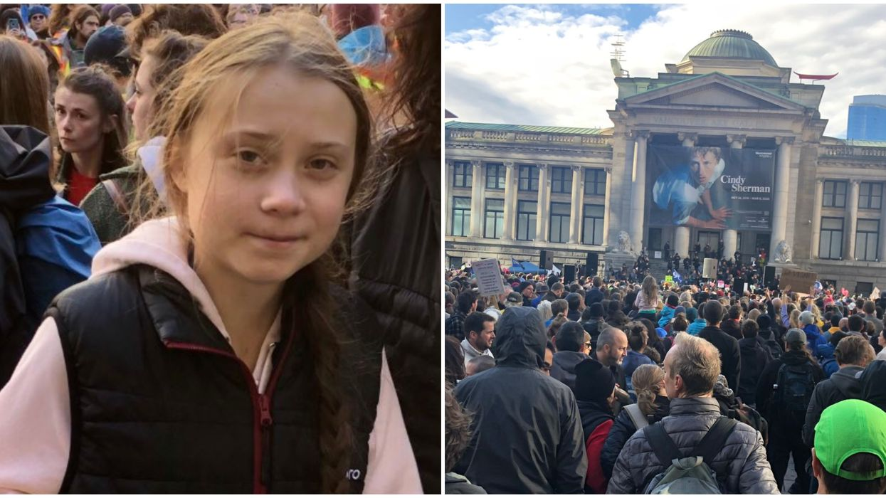 Greta Thunberg Slams World Leaders With A Fiery Speech At Vancouver's Climate March (VIDEO)
