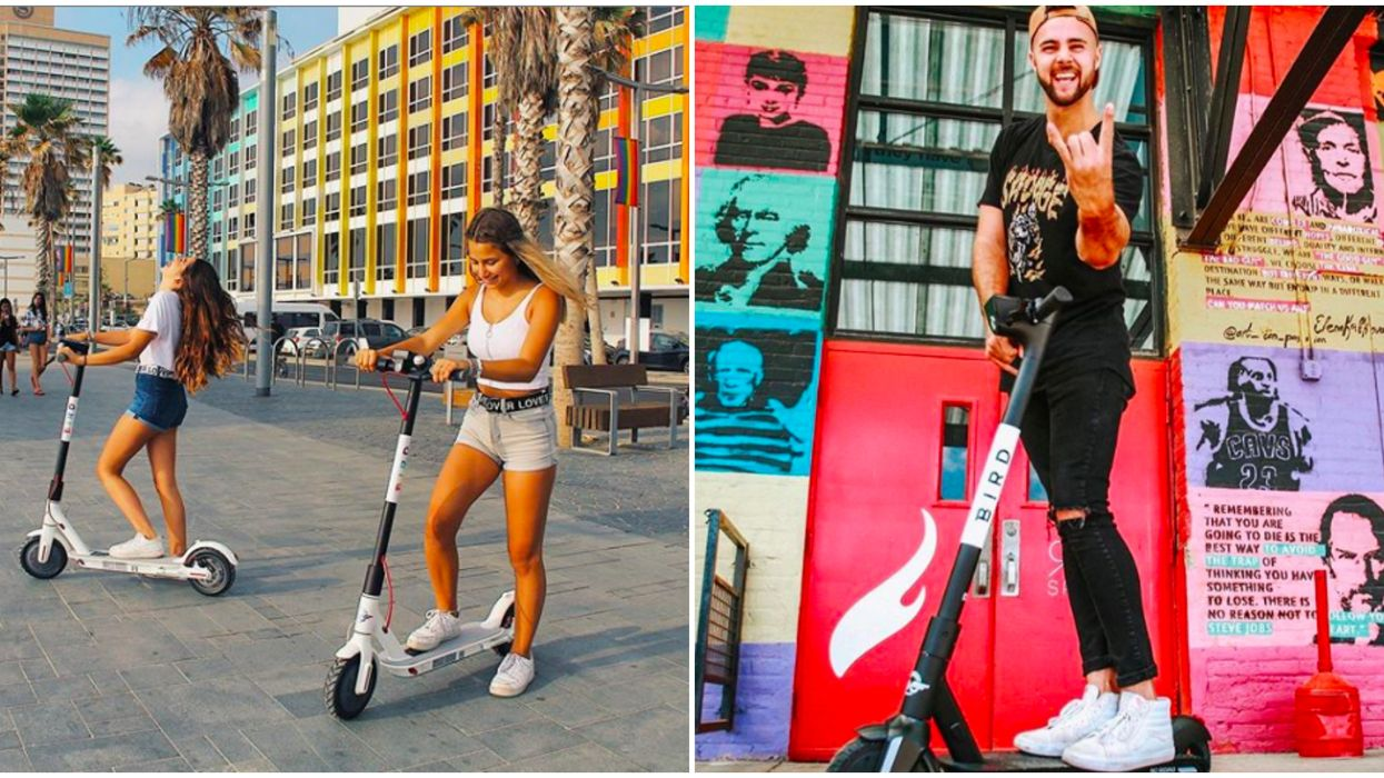 Self-Driving Scooters Are Coming To Atlanta & It's Actually Hilarious
