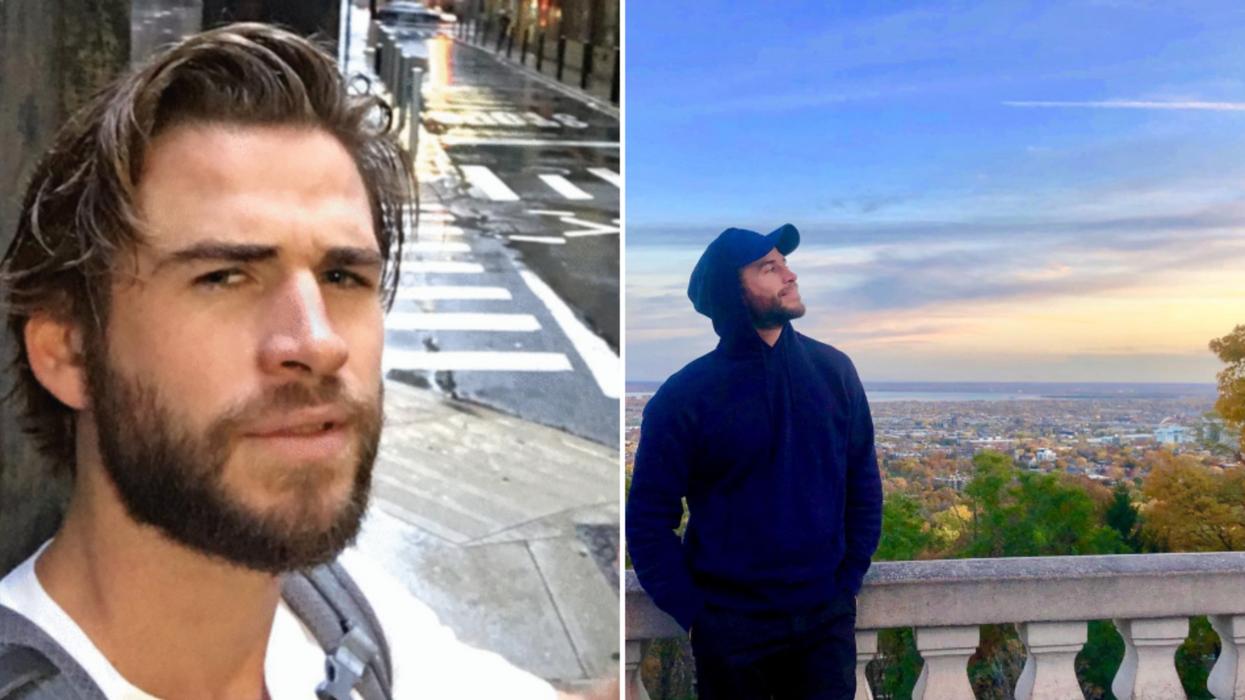 Liam Hemsworth Montreal Filming
