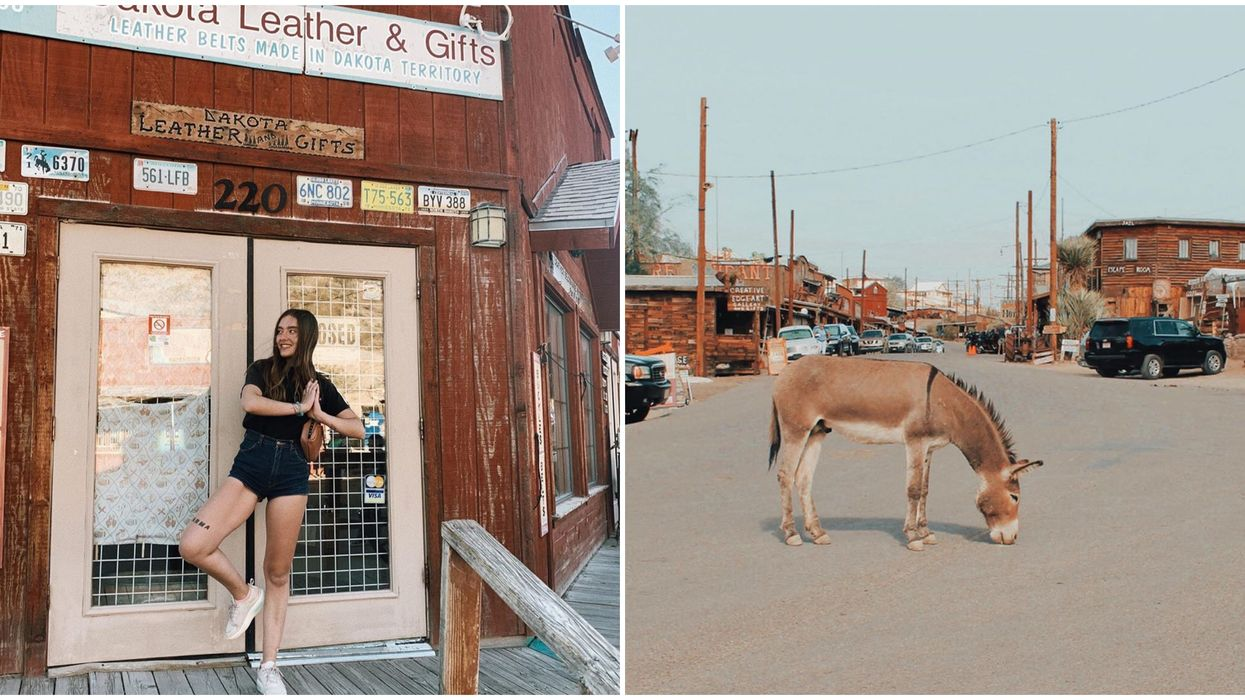 There's An Old West Town In Arizona That Has Been Taken Over By Donkeys