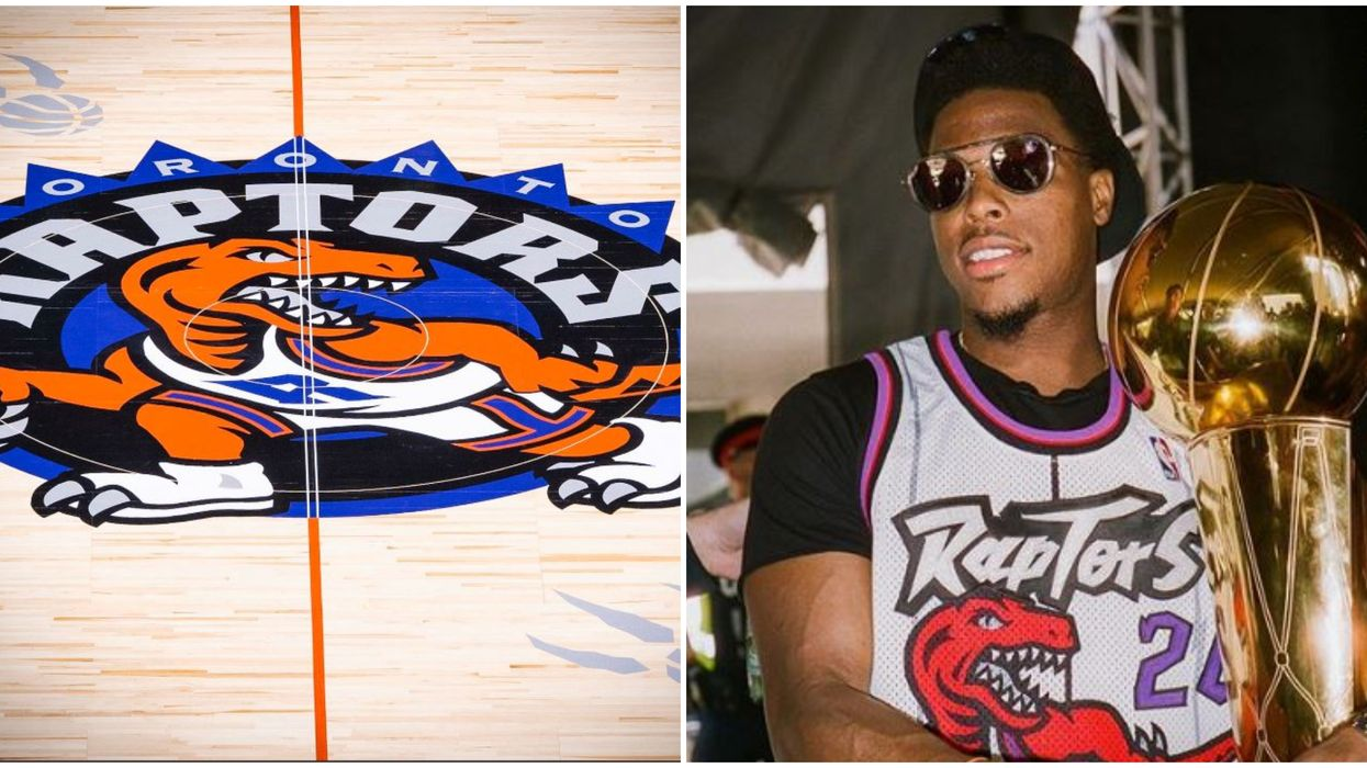Toronto Raptors Retro Court Design Reveal Throws Back To The 90s In The Best Way