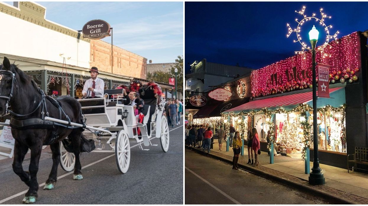 A Real Life Christmas Town Will Be Near San Antonio Next Month