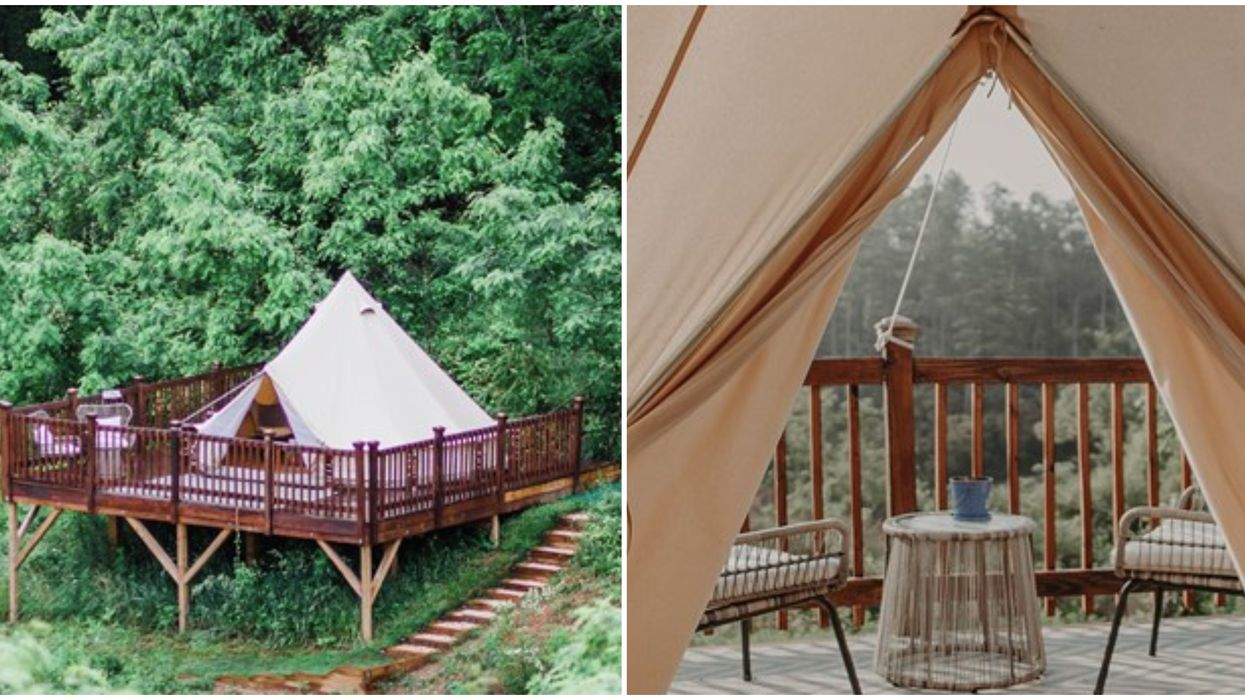 Glamping Experience In North Carolina Is Out Of This World & Super Affordable