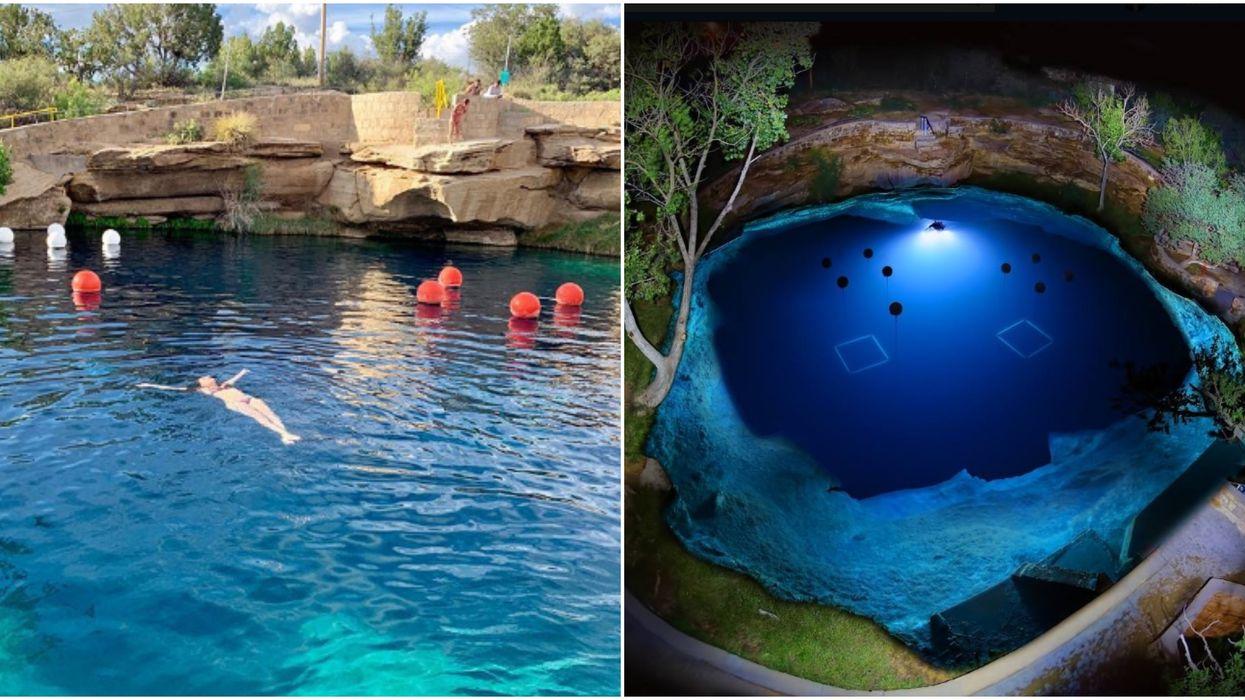 Dónde ir cerca de El Paso incluye esta increíble piscina natural de 81 pies