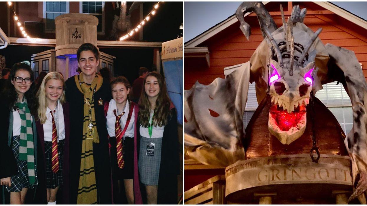 "Austin Has An Actual ""Harry Potter"" Diagon Alley Opening This Halloween (PHOTOS)"