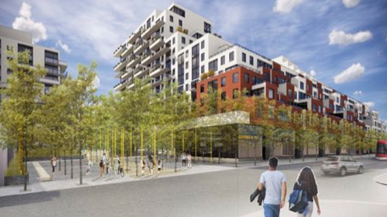 Toronto Is Finally Adding Hundreds Of Affordable Rental Homes To The East End (PHOTOS)