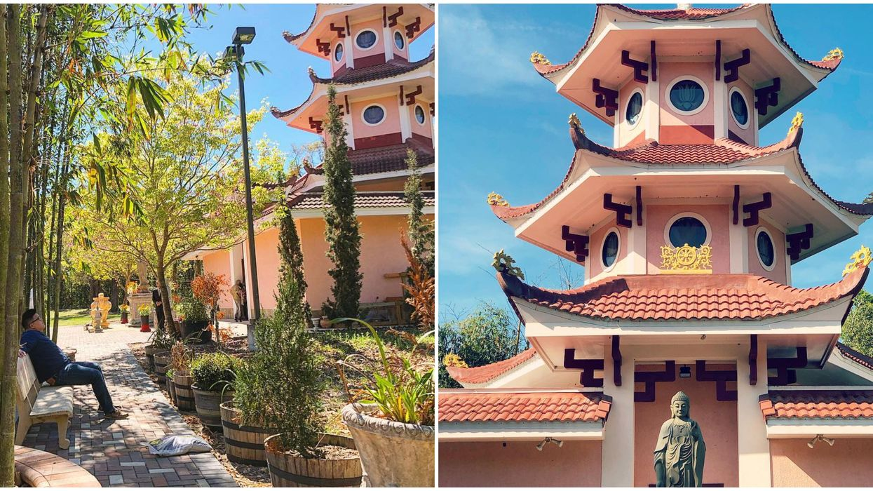 Hidden Gems In Florida Include Buddhist Temple Near Orlando That Feels Like You're In Asia