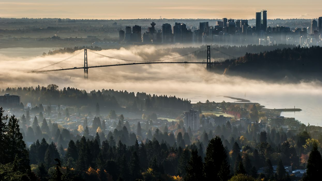 Halloween Weekend In Vancouver Is Going To Be Dark, Cloudy & Creepy