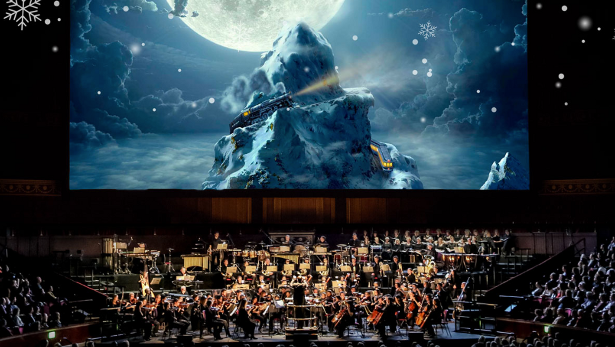"""Vancouver Is Hosting A Massive """"Polar Express"""" Live Concert This Winter"""