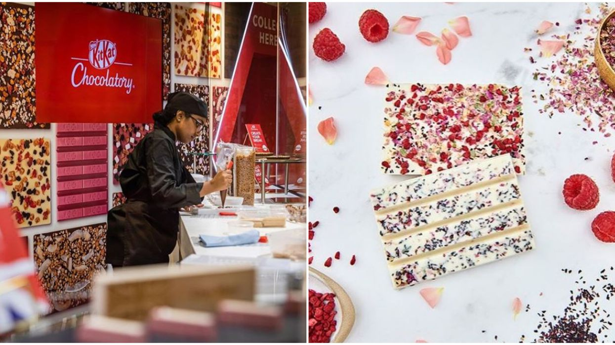 Toronto KitKat Store Opens In November With A Magical DIY Chocolatory