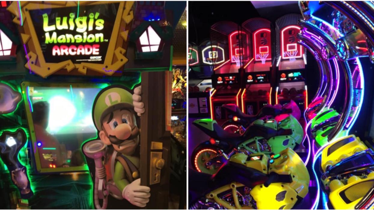 Ce nouveau centre d'arcades qui débarque à Laval va te faire retomber en enfance