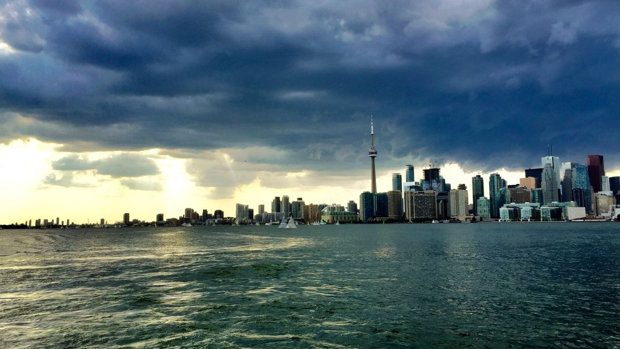 Environment Canada Warns That Rain & Wind Storm Is Going To Kill Your Toronto Halloween