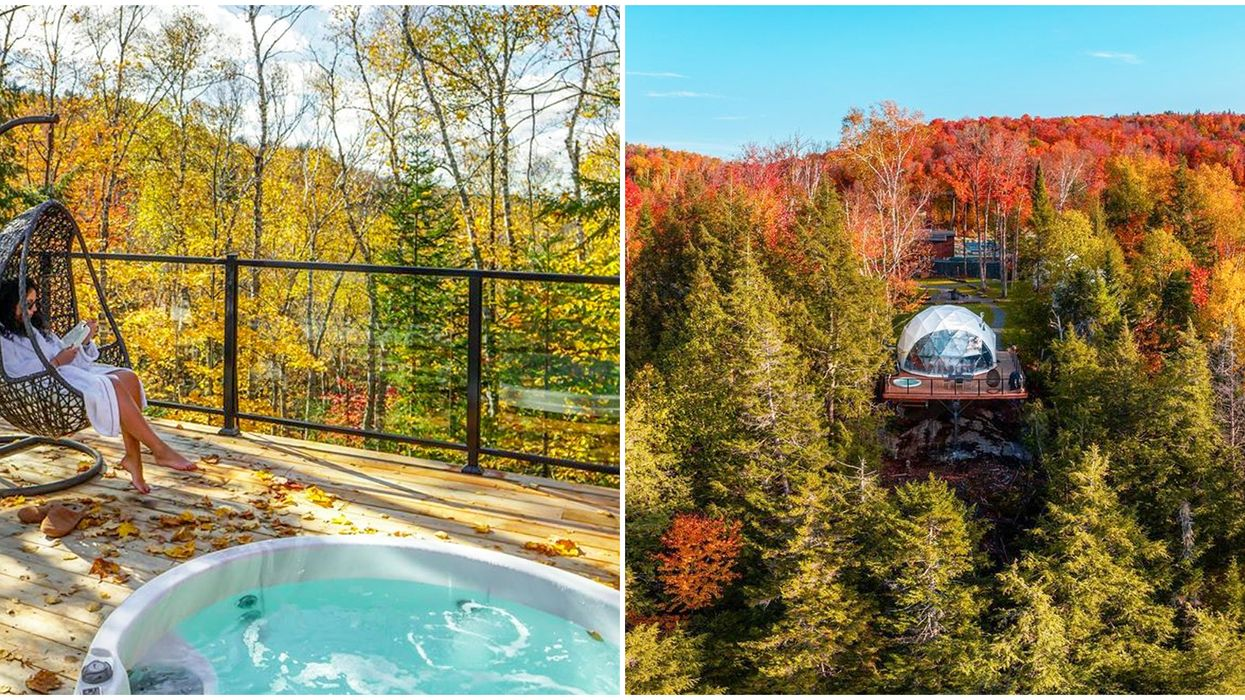 Bel Air Tremblant Resort Dome Is Picture Perfect For A Weekend Getaway