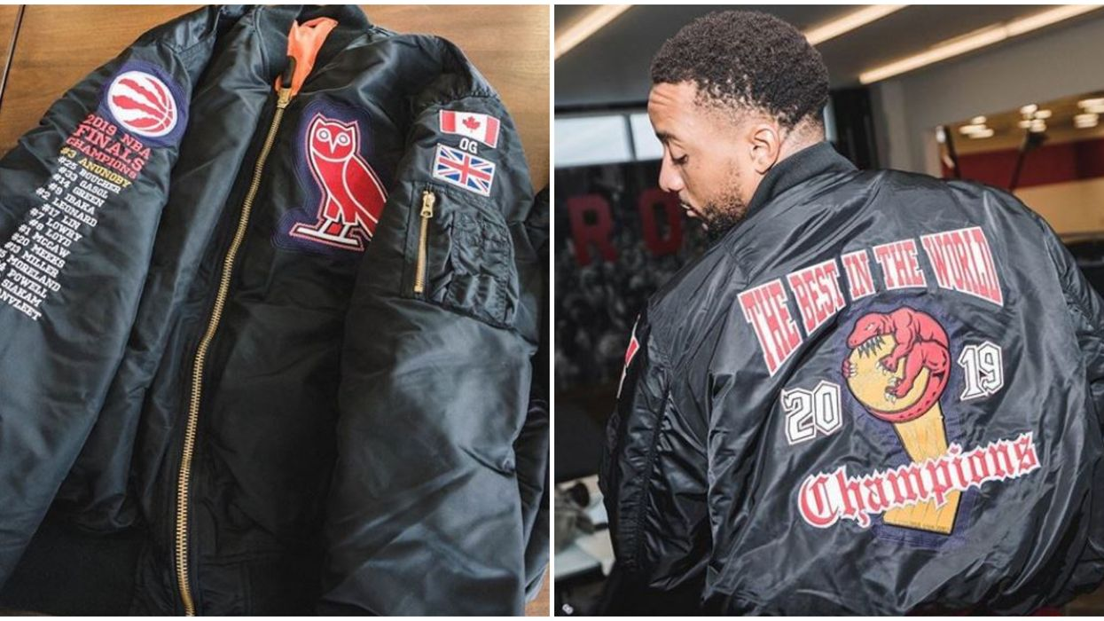 Drake Gifted Raptors Players Custom Championship Jackets & They're Total Fire (PHOTOS)