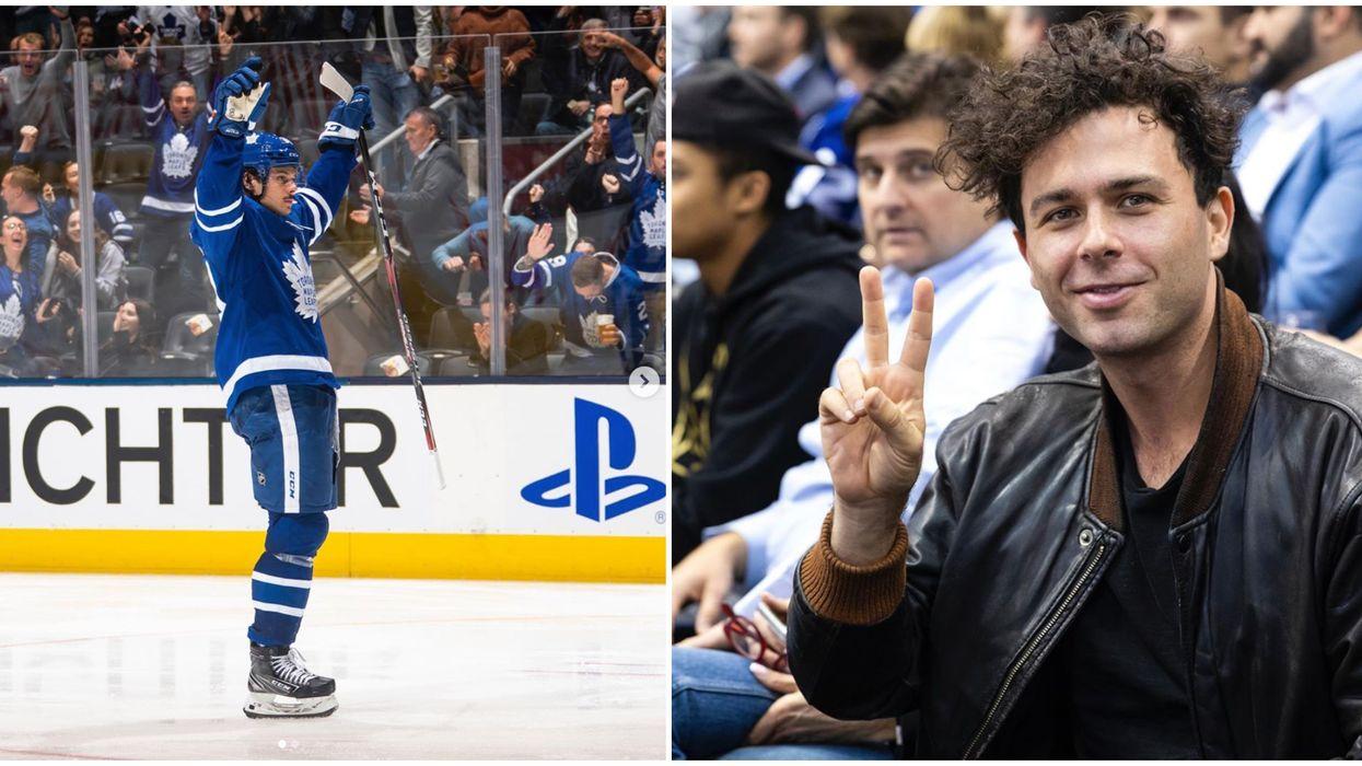 Toronto Maple Leafs Celebrity Fans