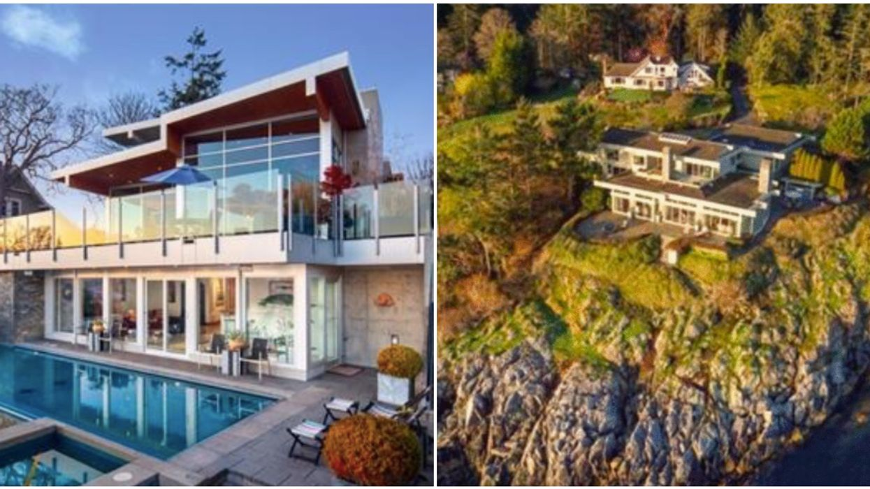 7 Cliffside Beach Mansions For Sale In Victoria That Will Actually Make You Drool