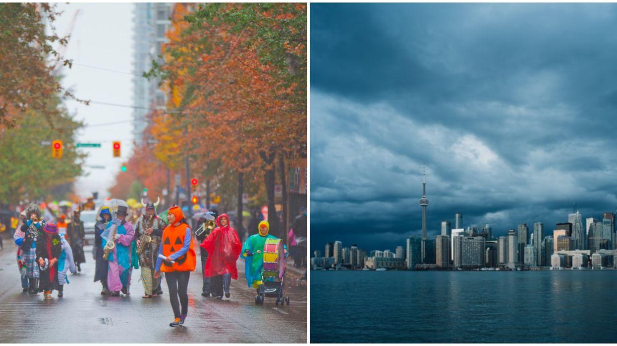 Ontario Storm Won't Pressure Toronto Into Postponing Halloween Like In Other Cities