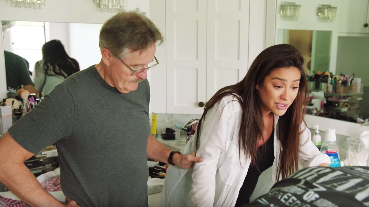 Shay Mitchell's Labour
