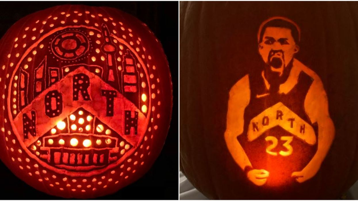Toronto Raptors Pumpkin Designs Are So Creative This Halloween