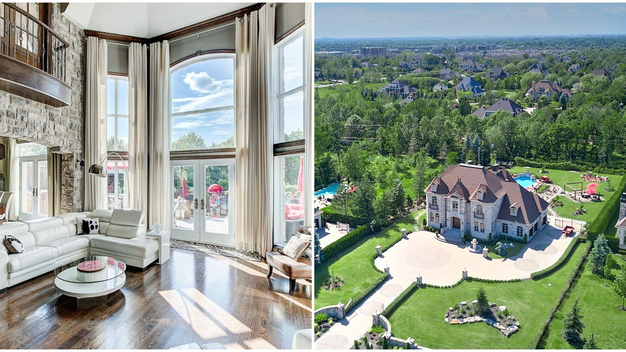 Quebec Mansion For Sale Is Where You Want To Host Your Next Pool Party