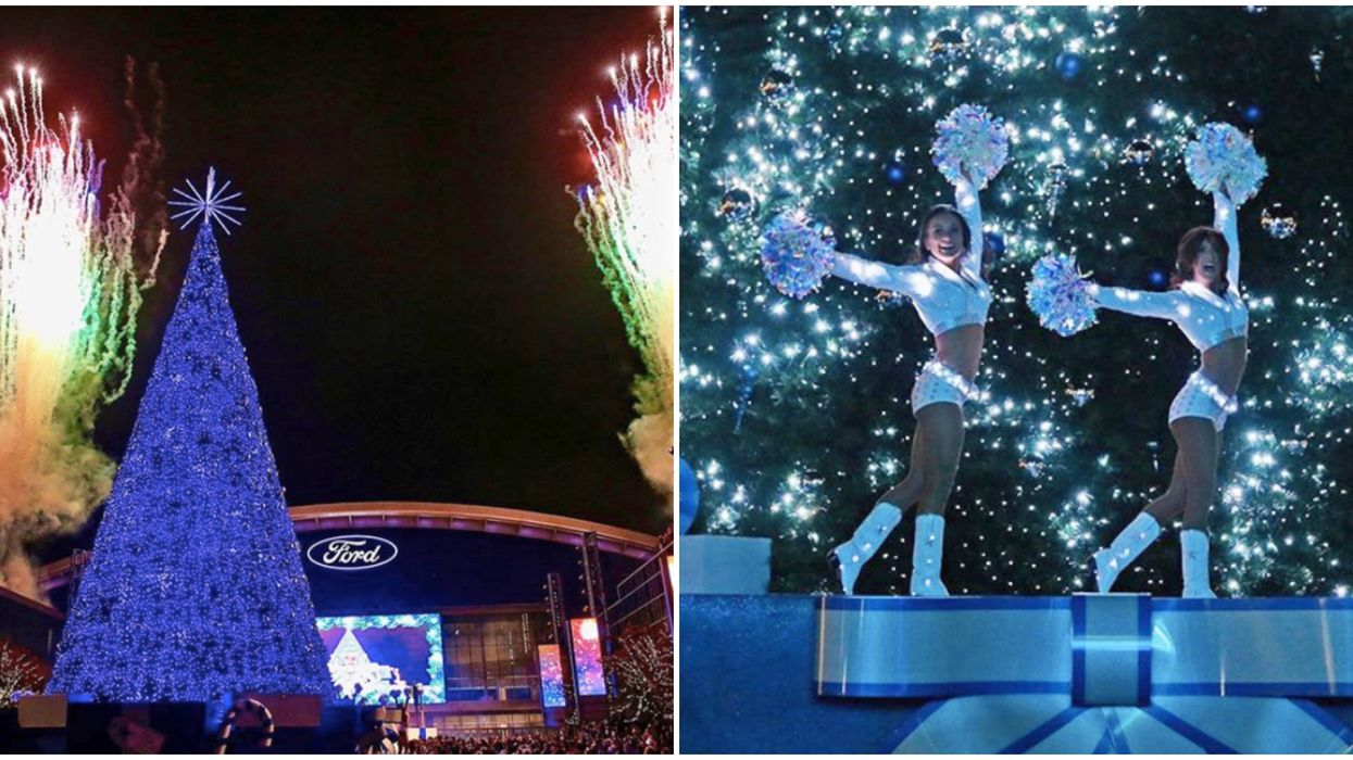 A Dallas Cowboys-Themed Christmas Event Is Coming To Frisco This Winter