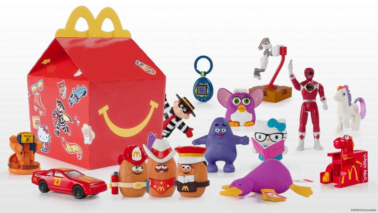 McDonald's Surprise Happy Meals Will Feature Toys From Your Childhood Next Week Only