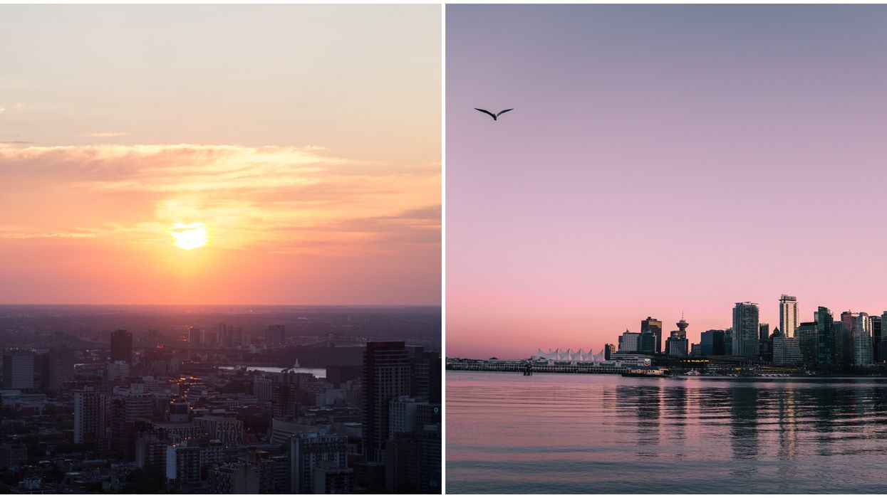 Canada's Earliest Sunset Will Be At 3:13 PM When Daylight Savings Time Ends This Weekend