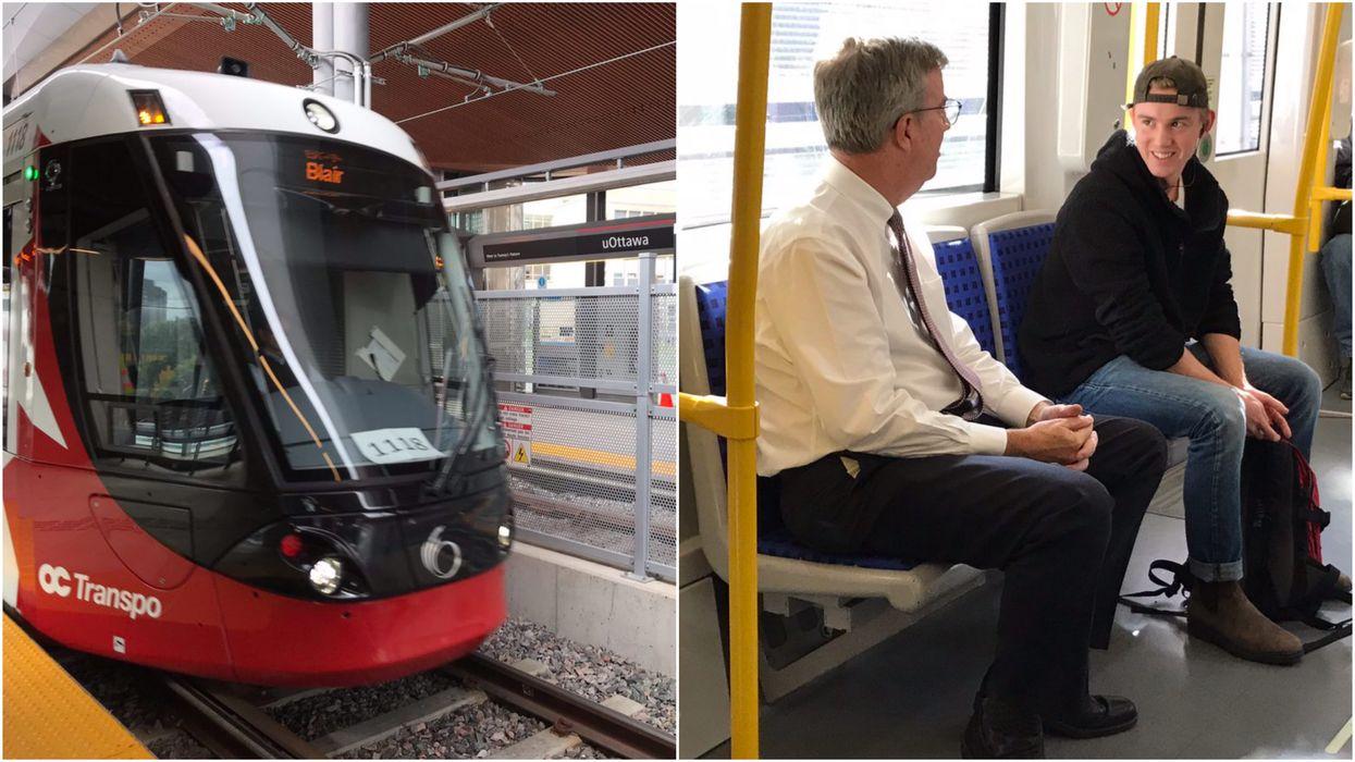 "Jim Watson's Ottawa LRT Tweet Calls It An ""Awful Experience"""