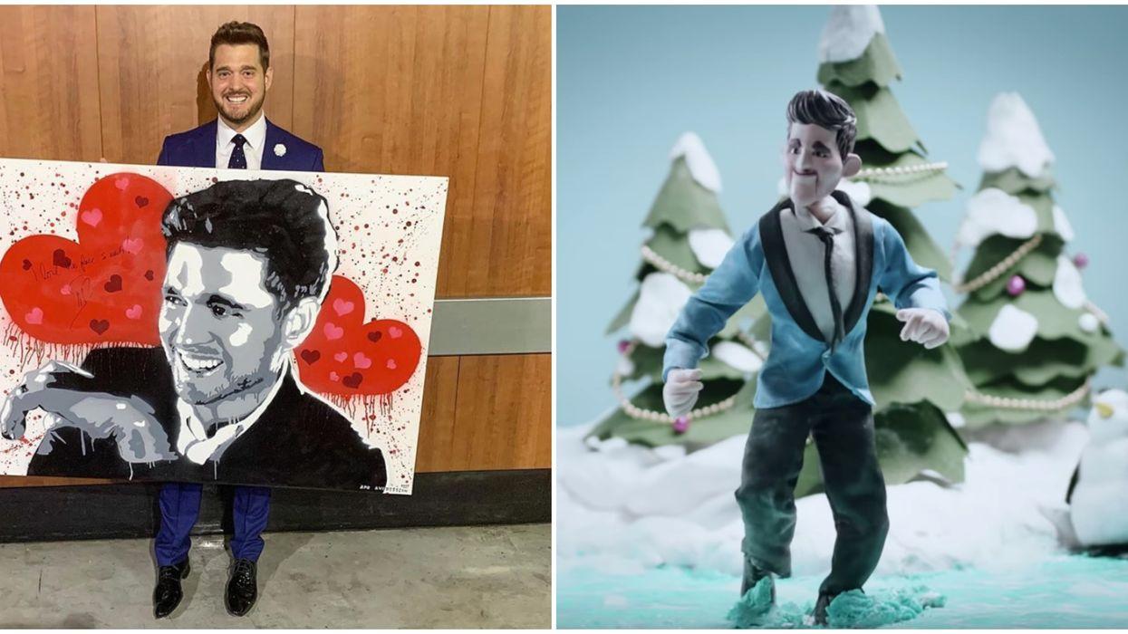"Michael Buble's ""White Christmas"""